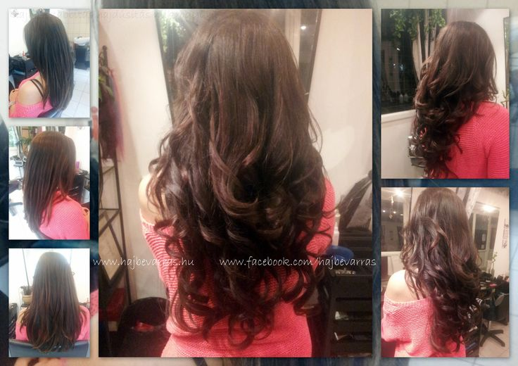 Hajhosszabbítás 55 cm-es európai hajból, 4 soros mikrogyűrűs felvarrással. www.hajbevarras.hu www.fb.com/hajbevarras #hajhosszabbitas #hajdusitas