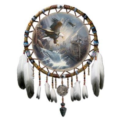 Native American Inspired Eagle Art Dreamcatcher Dreams Of