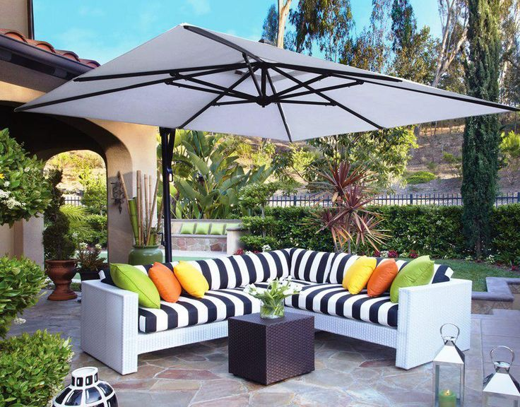 Best Cantilever Patio Umbrellas With Pictures   Http://home.blushblubar.com