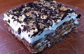 Γλυκό ψυγείου με μπισκότα σαν τούρτα από την Μπέττυ και το «Τaste of life by Betty» !