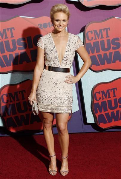 Miranda Lambert attends the 2014 CMT Music Awards at the Bridgestone Arena in Nashville, Tenn., on June 4, 2014.