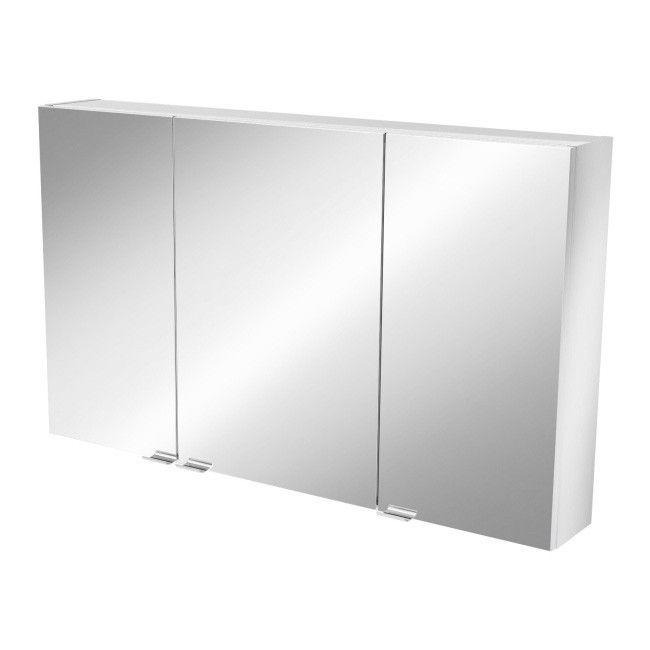 Szafka Z Lustrem Goodhome Imandra 100 X 60 X 15 Cm Lustrzane Furniture Room Divider Decor