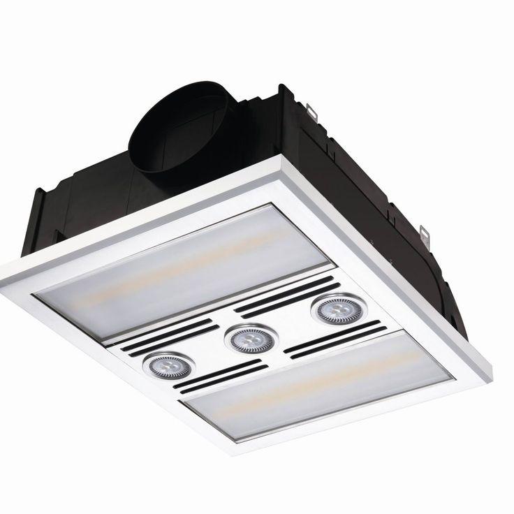 Heater fan for bathroom