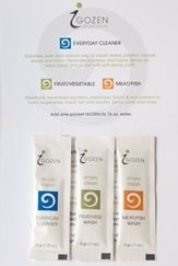 Free sample pack of IGOZEN All Purpose Natural Cleaner using code TAJB1 at check out! No CC plus FREE SHIPPING! Totally free.