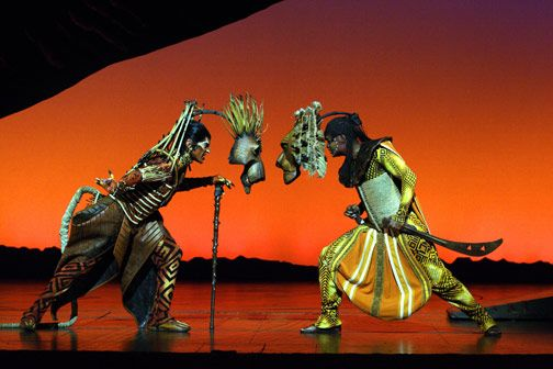 The Lion King | Lyceum Theatre, London | Saturday 16th August, 2008 | Musical. Julie Taymor's adaptation of Disney's animated film.
