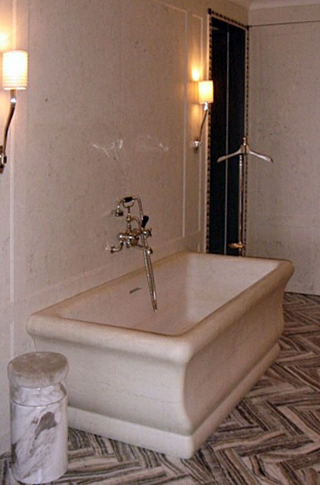 1000 images about vasche in pietra on pinterest bath tubs blog and the stone - Vasca da bagno in pietra ...