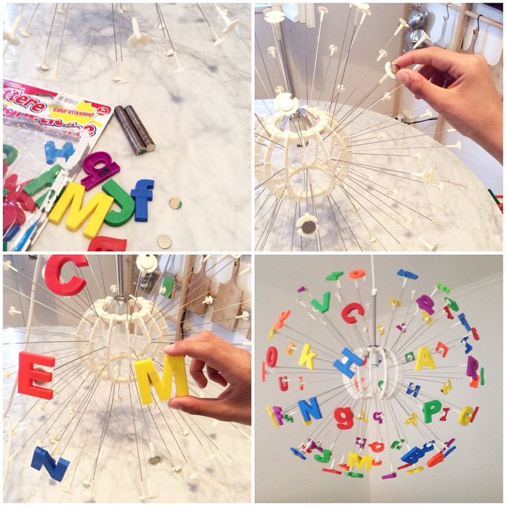 mommo design: IKEA MASKROS HACK - add magnet stickers on the lamp