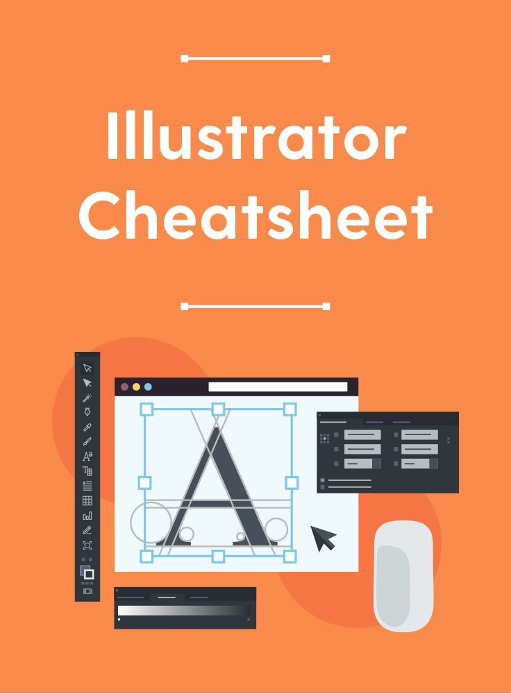 Free Illustrator Cheatsheet A Pdf Guide To The Pen Tool File Formats Shortcuts In 2020 Graphic Design Tools Adobe Illustrator Design Learning Graphic Design