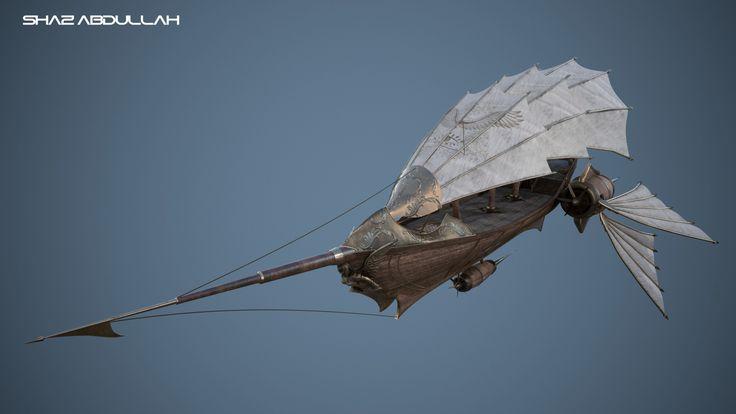 ArtStation - Steampunk Airship, Shaz Abdullah