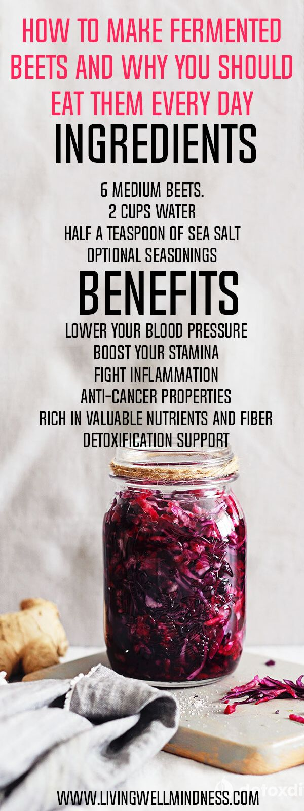 How to Make Fermented Beets and Why You Should Eat Them Every Day - Living Wellmindness
