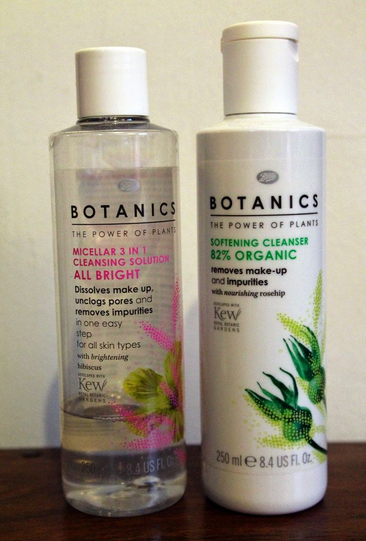 Unrequited love: Boots Botanics Softening Cleanser and All Bright Micellar Solution :( #bbloggers #skincare