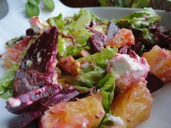 Средиземноморский свекольный салат