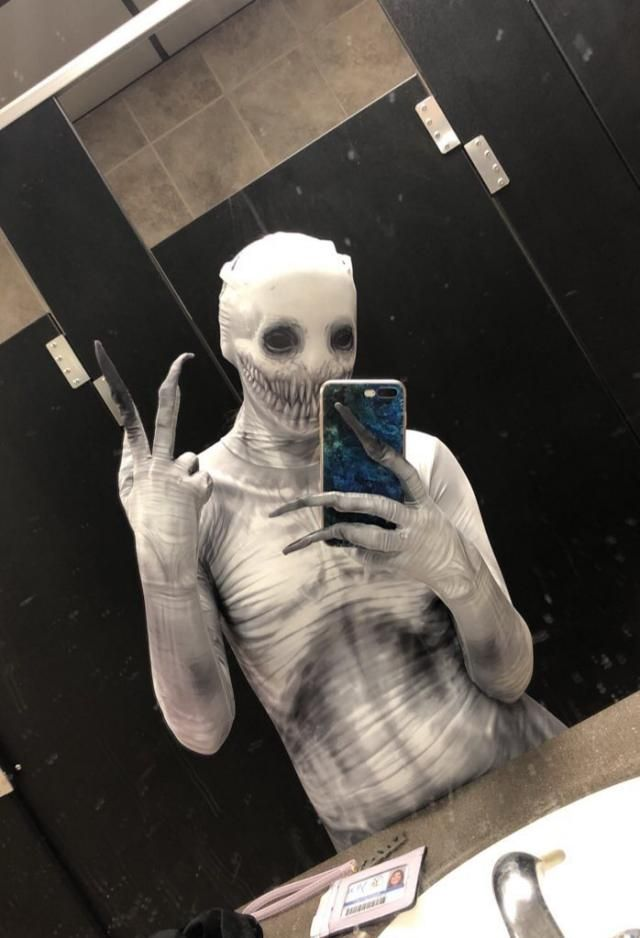 Student gewinnt Halloween mit gruseligem Bodysuit-Kostüm PrankBeautyBlog #Make …