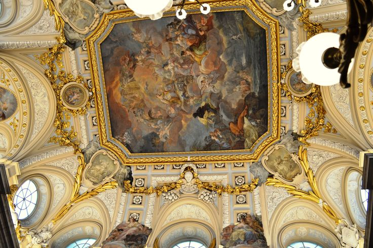 Entrance hall ceiling, Palacio Real