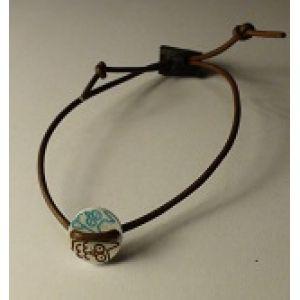 Bracelet, thin leather