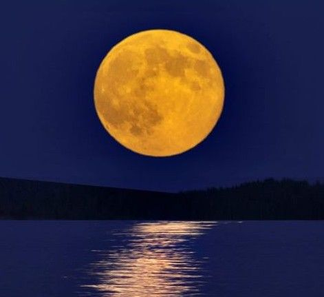 The full moons have names corresponding to the calendar months or the seasons of the year.