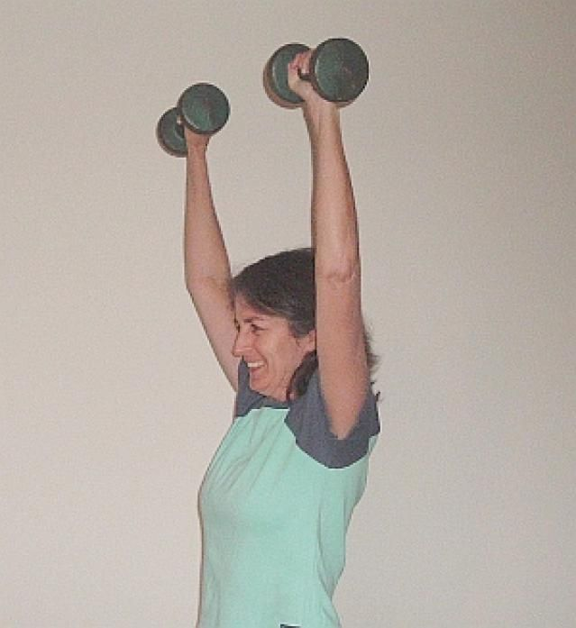How to Do the Dumbbell Overhead Press: How to Do the Dumbbell Overhead Press - Points to Note