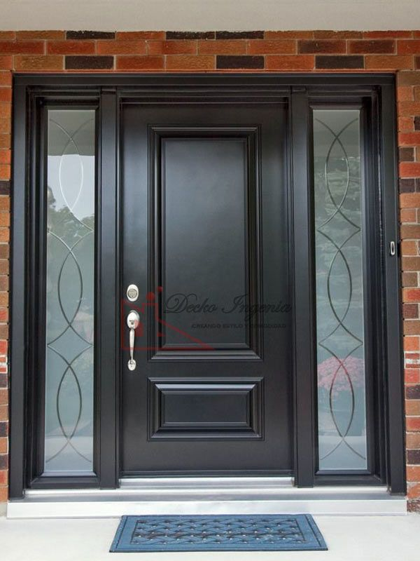 77 best front doors images on pinterest front door paint - Puertas de madera para exterior ...
