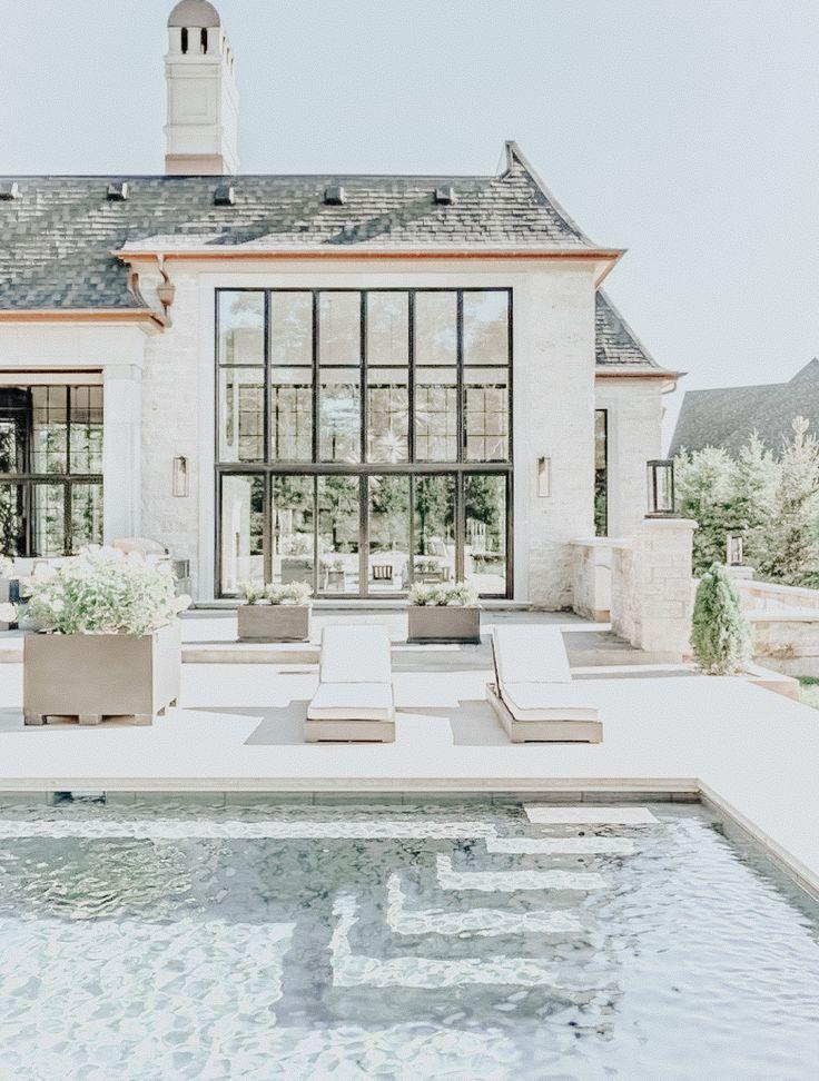 Pinte sua piscina de branco e uau! O que outras pessoas estão dizendo   – Home Sweet Home