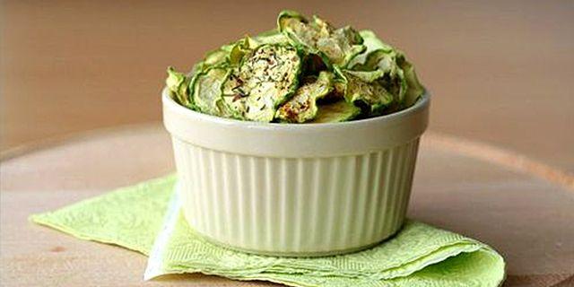 Chips di zucchine crottanti!