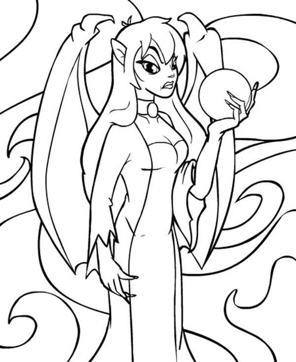 Jhudora Holding Crystal Ball Neopets Coloring Pages Coloring Pages Neopets Coloring Pictures For Kids