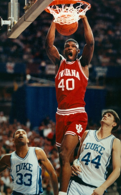 Indiana Hoosier Calbert Cheaney - Big Ten and IU all-time leading scorer.