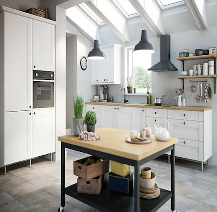 B&Q IT Westleigh Ivory Style Shaker. Kitchen-compare.com - Home - Independent Kitchen Price Comparisons