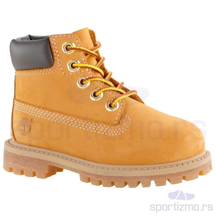 These kids' waterproof boots are inspired by the original Timberland boots.