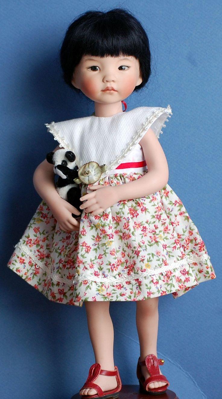 Dianna Effner tous les 10 poupée en porcelaine par Kuwahidolls