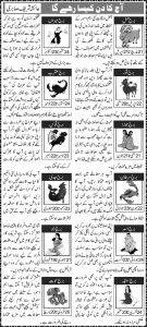 Yearly Horoscope In Urdu online guide - سالانہ کنڈلی میں اردو آن لائن گائیڈ  CLICK HERE - http://www.horoscopeyearly.com/yearly-horoscope-in-urdu/