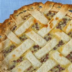 Sour Cream Gooseberry Pie Recipe seems like something I would dig on under any circumstance.