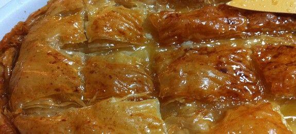 Galaktoboureko (Greek custard pie) | My Greek Dish