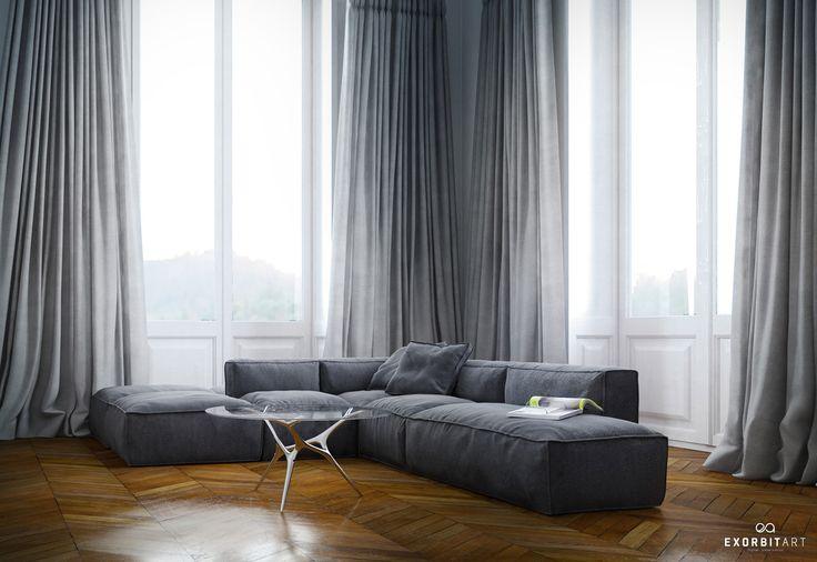 die besten 25 vorhang verdunkelung ideen auf pinterest. Black Bedroom Furniture Sets. Home Design Ideas