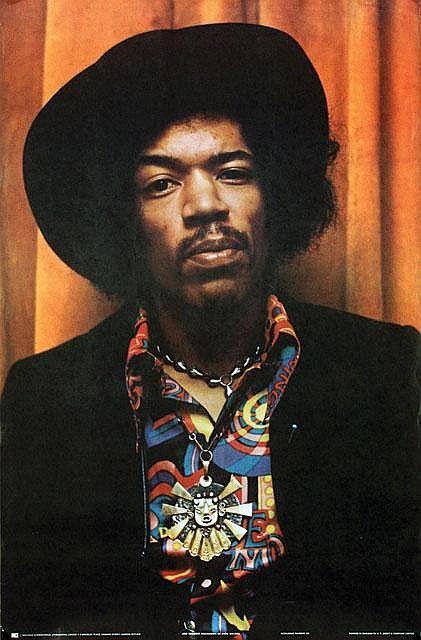 Chris Walter, photography / poster of Jimi Hendrix, 1970. © Chris Walter