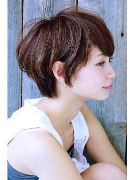 【+~ing  deux】カライングスタンダードショート【三橋歩】S - 24時間いつでもWEB予約OK!ヘアスタイル10万点以上掲載!お気に入りの髪型、人気のヘアスタイルを探すならKirei Style[キレイスタイル]で。