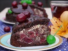 "Самые вкусные рецепты: Торт ""Пьяная вишня"""