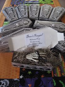 I really wanted to make this invitation from Martha for my upcoming Halloween party.  However, when I kept pricing things out, it was very m...