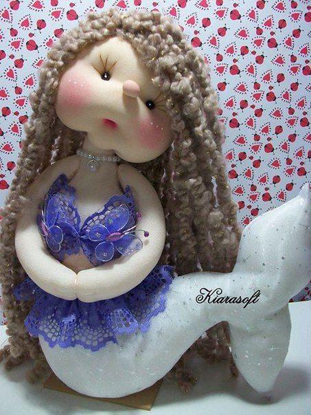 Muñeca sirena soft