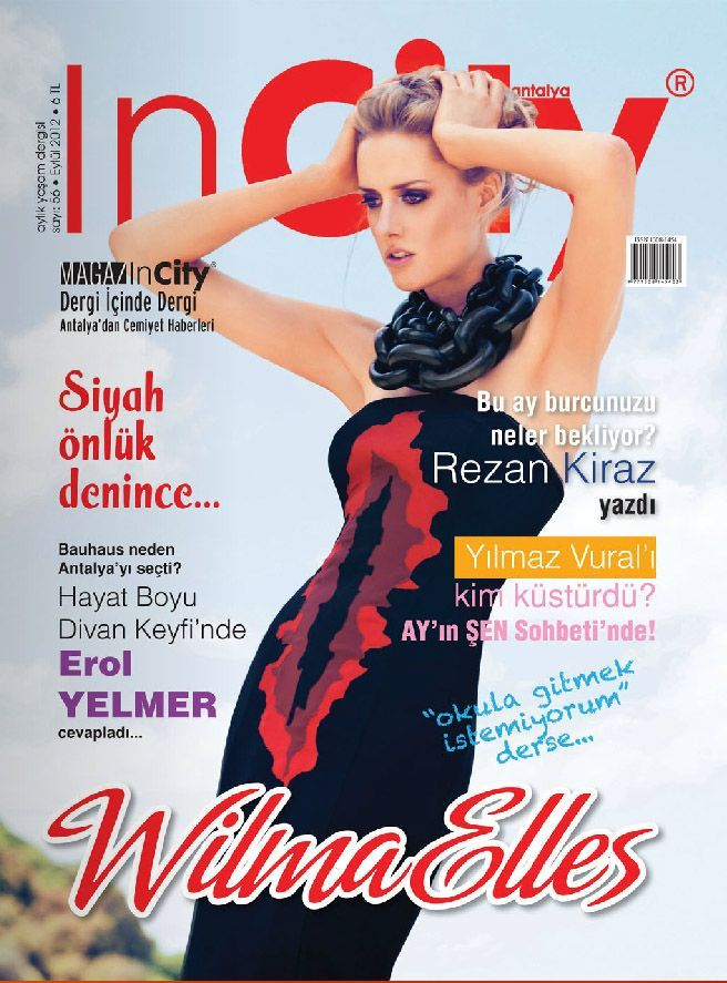 Wilma Elles - In City Magazine Cover [Turkey] (September 2012)
