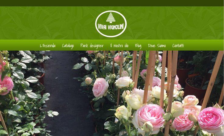 www.vivaivignolini.it Vivaio Vetralla