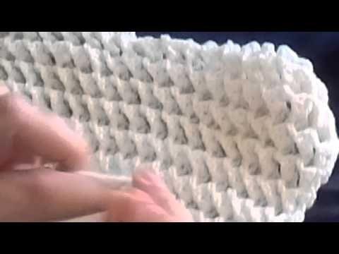 Puntada para manta de bebe en gancho fácil y rápida #31 - YouTube