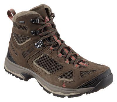 Vasque Breeze III GTX Gore-Tex Hiking Boots for Men - Black Olive/Bungee Cord - 10.5 M