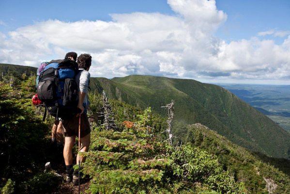 Randonnée de refuge en refuge dans le parc de la Gaspésie sur le sentier international des Appalaches - découverte des produits du terroir
