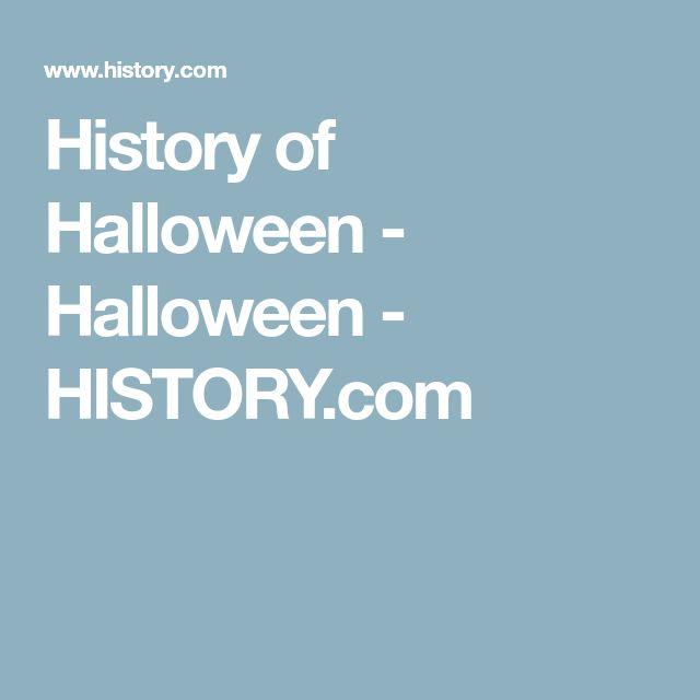 History of Halloween - Halloween - HISTORY.com