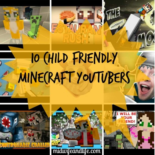 10 child friendly minecraft youtubers | POST by Elite Member @midwifeandlife FEAT. Stampy Long Nose | http://www.pickablogger.com/blog-posts/10-child-friendly-minecraft-youtubers  | #pbloggers #tech #Minecraft