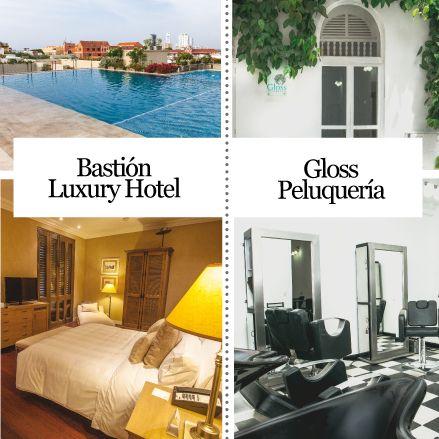 Bastión Luxury Hotel En el corazón de la ciudad amurallada de Cartagena de Indias, se encuentra Bastión, Luxury Hotel, un lugar mágico que pone a disposición 51 habitaciones  Gloss peluquería Servicio y atención personalizada en un ambiente agradable es lo que nos caracteriza, brindamos a nuestros clientes profesionalismo e interés, porque más que estilistas somos asesores. http://www.inkomoda.com/recomendados-inkomoda-edc_25/