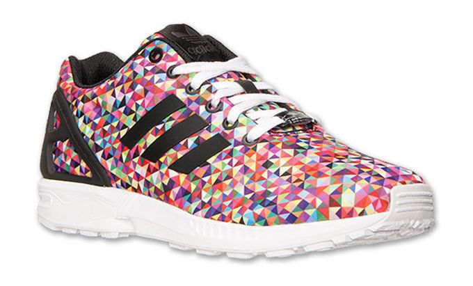 """You can buy the adidas Originals ZX Flux """"Multicolor Prism"""" for 15 percent off right now. Use the special code from Kicks Deals."""