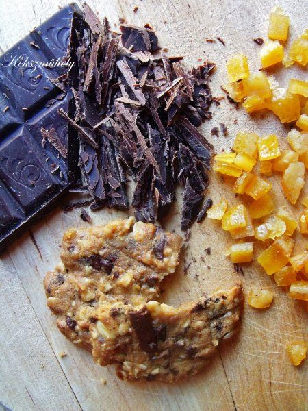 Narancsos-csokis zabfalatok