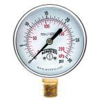 PEM-LF Series 2.5 in. Lead-Free Brass Pressure Gauge with 1/4 in. NPT LM and 0-30 psi/kPa