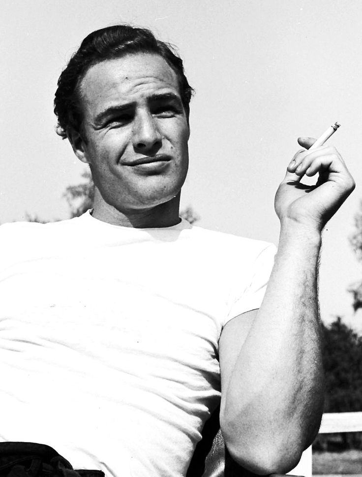 Marlon Brando photographed by Ed Clark during the rehearsals for The Men, 1949.